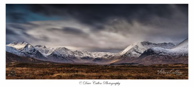 Glencoe Mountain Range